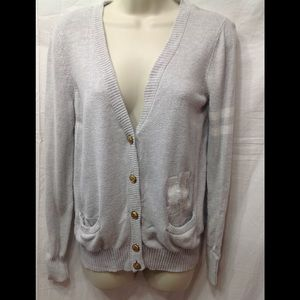 Junior's size Large FOREVER 21 varsity cardigan